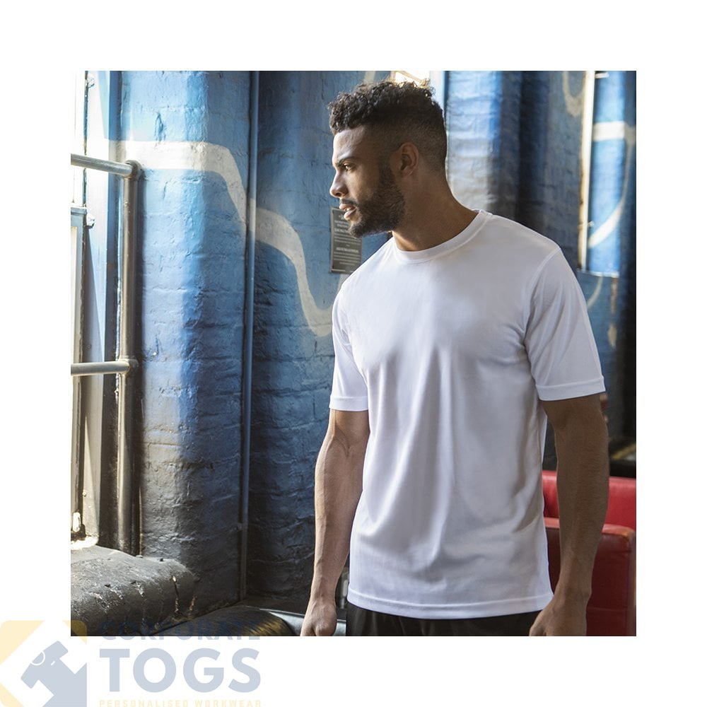 Personalised Your Text Logo JC001 AWDis AWD is Cool T Shirts outerwear
