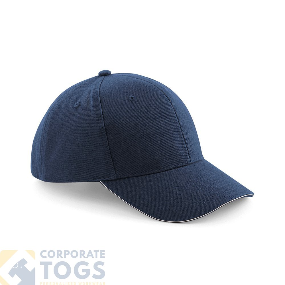 a12c6e0dcf9 BEECHFIELD BC065 PRO-STYLE HEAVY BRUSHED COTTON CAP