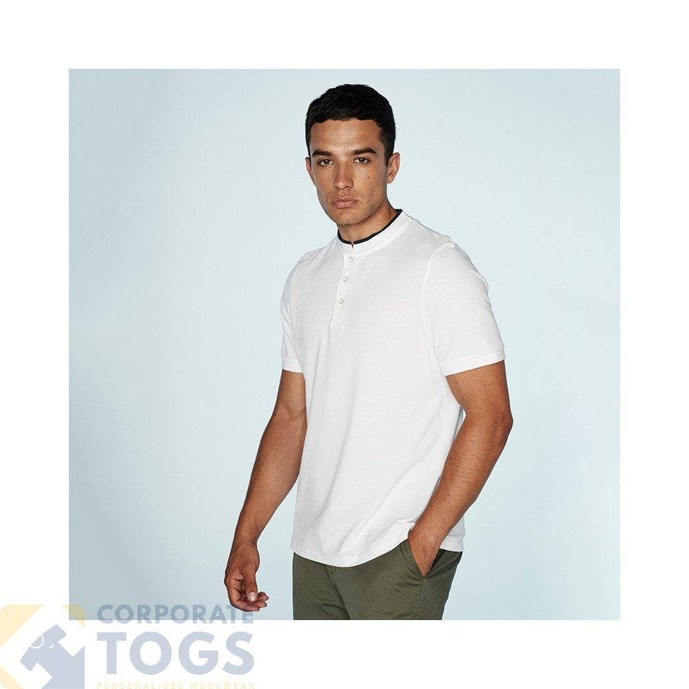 19c0953c0d STAND COLLAR STRETCH POLO SHIRT