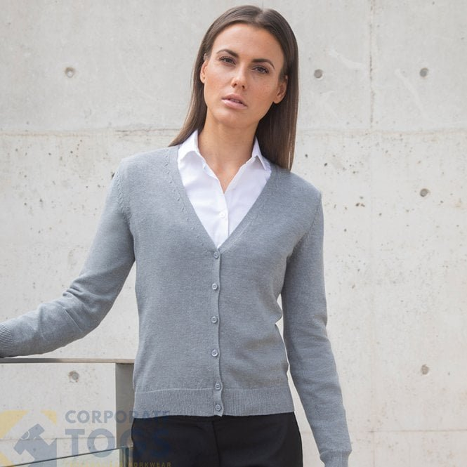 a36bc9dd1 HENBURY HB726 WOMEN S V-NECK CARDIGAN