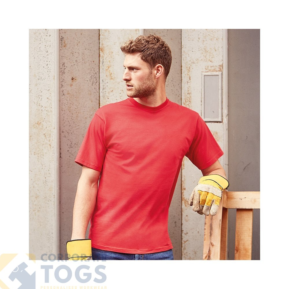 Ringspun T Shirt >> Russell J215m Classic Heavyweight Ringspun T Shirt